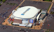 Edgartown Aerials - Wells Fargo Center 3601 South Broad St Philadelphia PA 19148 by Duncan Pearson