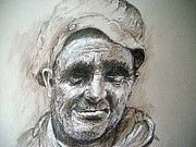 Labor Drawings - Welsh Miner by Dick  Stanton