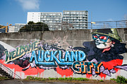 Tag Paintings - Welsome to Auckland City by Yurix Sardinelly