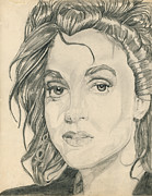 Rain Drawings - Wendy Coleman by Allen Walters
