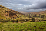 Farming Barns Prints - Wensleydale Print by John D Hare