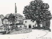 Wente Winery - Arroyo Road Print by Mike Robles