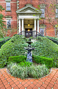 Entrance Door Photos - Wentworth Mansion II by Drew Castelhano