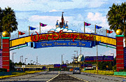 Walt Disney World Florida Art - Were Dreams Come True by David Lee Thompson