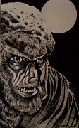 Supernatural Drawings - Werewolf by Kimberlee  Ketterman Edgar