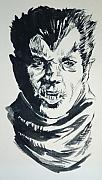 Universal Monsters Framed Prints - Werewolf of London Framed Print by Bryan Bustard