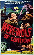 Blood Moon Posters - Werewolf Of London, Warner Oland, Henry Poster by Everett