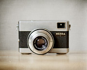 Camera Metal Prints - Werra Metal Print by Violet Damyan