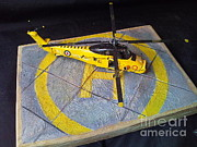 Helicopter Sculptures - Wessex by Rich Holden