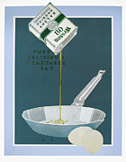 Salad Prints - Wesson Oil Ad, 1921 Print by Granger
