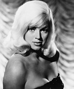 1963 Movies Prints - West 11, Diana Dors, 1963 Print by Everett