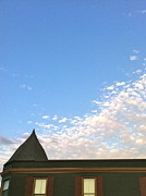 Roofline Prints - West Bend Sky Print by Drew Domkus
