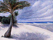 Cayman Islands Prints - West End Cayman Brac Government Beach Print by Monte Lee Thornton