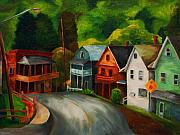 Old Roadway Prints - West Germania Street Print by Donna Teleis
