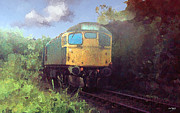 Johnny Trippick Prints - West Highland Line Print by Johnny Trippick