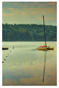Catamaran Prints - West Hill Lake Print by Jeff Breiman