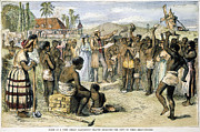 1833 Prints - West Indies: Slavery, 1833 Print by Granger
