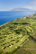 Paradise Point Prints - West Maui Aerial Print by Ron Dahlquist - Printscapes