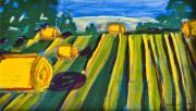 Bales Paintings - West O by Stephanie Heller Durr