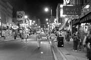 Beale Photos - West on Beale Street Memphis by James Richardson