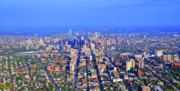 Philadelphia Skyline Art - West Philadelphia Center City Skyline by Duncan Pearson