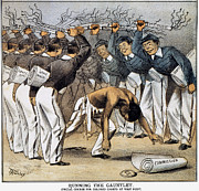 West Point Cartoon, 1880 Print by Granger