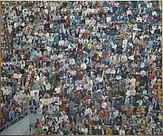 James Sparks Paintings - West Point Crowd by James Sparks