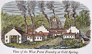 Foundry Prints - WEST POINT FOUNDRY, c1845 Print by Granger