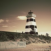 Lighthouse Photos - West Points Light by Meg Lee Photography