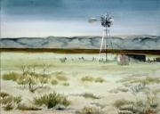 Karen Boudreaux - West Texas Windmill