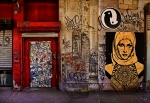 Graffitti Photos - West Village Wall NYC by Chris Lord