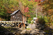 Grist Mill Art - West Virginia Mill by Steve Stuller