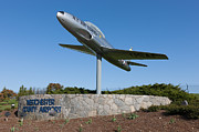 Purchase Prints - Westchester County Airport Entrance Print by Clarence Holmes
