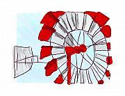 Westen Windmill Print by Steven Wilson