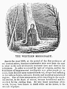 Western Missionary Print by Granger