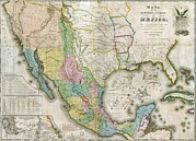 Indian Territory Prints - Western North America Print by Everett