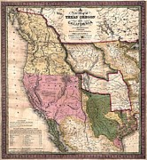 Indian Territory Prints - Western North America On The Eve Print by Everett