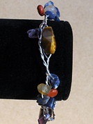 Sterling Silver Bracelet Art - Western Tananger At Sunset by Naomi Mountainspring
