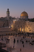 Eastern Orthodox Photos - Western wailing wall in Jerusalem by Stefano Baldini
