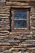 Brown Digital Art Prints - Western Window Print by Kelley King
