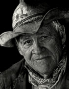 Portrait Photos - Western Wisdom by Ron  McGinnis