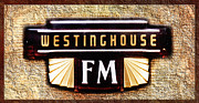 Logos Posters - Westinghouse FM Logo Poster by Andee Photography
