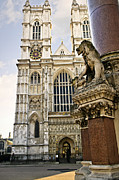 Old Facade Posters - Westminster Abbey Poster by Elena Elisseeva