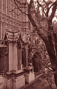 Historical Cities Prints - Westminster Abbey Print by Kathy Yates
