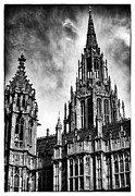Palace Of Westminster Prints - Westminster Architecture Print by John Rizzuto