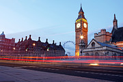 Development Of Life Photos - Westminster At Dusk by Richard Newstead