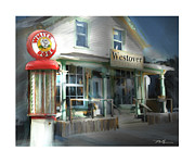 Convenience Prints - Westover General Store Print by Bob Salo