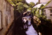 River View Paintings - Westport Ireland by Sarah Vandenbusch