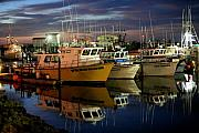 Mike Coverdale - Westport Marina at Dusk