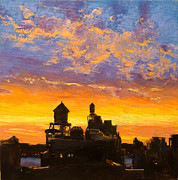 Peter Salwen - Westside Sunset No. 1